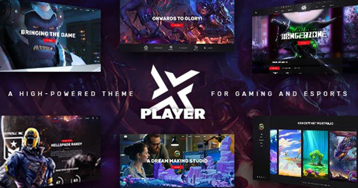 Landing – PlayerX